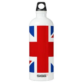 Union Jack Aluminum Water Bottle