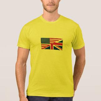 Union Jack American Flag Pattern Stars Stripes T Shirts