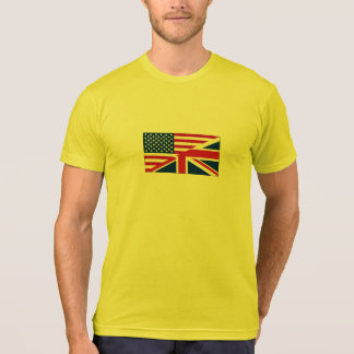 Union Jack American Flag Pattern Stars Stripes T Shirts