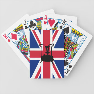 Union Jack and Paraffin pressure stove Bicycle Playing Cards