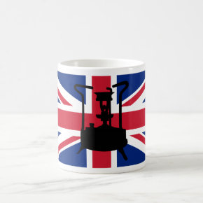 Union Jack and Paraffin pressure stove Coffee Mugs
