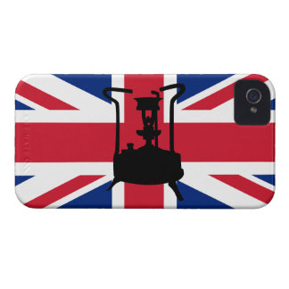 Union Jack and Paraffin pressure stove iPhone 4 Case-Mate Case