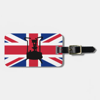 Union Jack and Paraffin pressure stove Luggage Tag