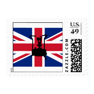 Union Jack and Paraffin pressure stove Postage Stamp