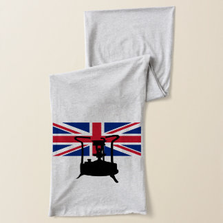 Union Jack and Paraffin pressure stove Scarf