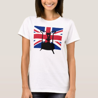 Union Jack and Paraffin pressure stove T-Shirt