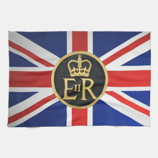 Union Jack and Royal Jubilee. Towel