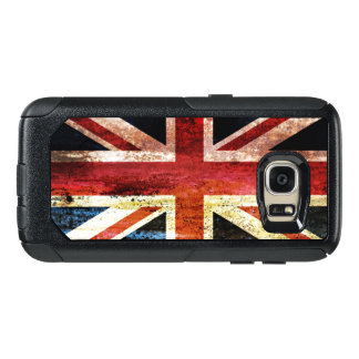 Union Jack anticuado Funda Otterbox Para Samsung Galaxy S7