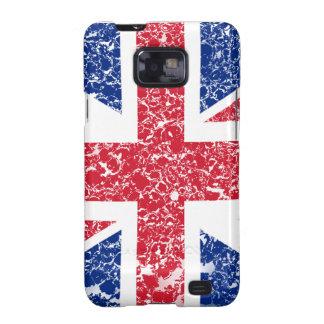 Union Jack apenó Samsung Galaxy S2 Carcasas