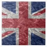 Union Jack - arrugado Teja