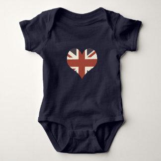 Union Jack Baby Bodysuit
