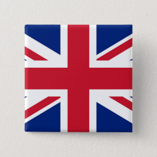 Union Jack - badge Pinback Button