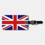 Union Jack Bag Tag
