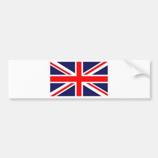 Union Jack - bandera BRITÁNICA Pegatina De Parachoque