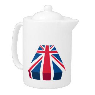Union Jack, bandera británica en 3D