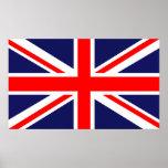 Union Jack - bandera BRITÁNICA Impresiones