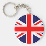 Union Jack - bandera BRITÁNICA Llaveros Personalizados