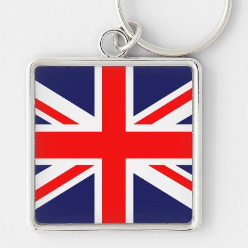 Union Jack - bandera BRITÁNICA Llaveros