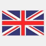 Union Jack - bandera BRITÁNICA Rectangular Altavoces