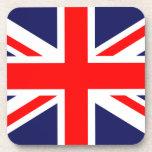 Union Jack - bandera BRITÁNICA Posavasos