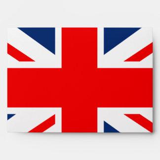 Union Jack - bandera BRITÁNICA Sobres