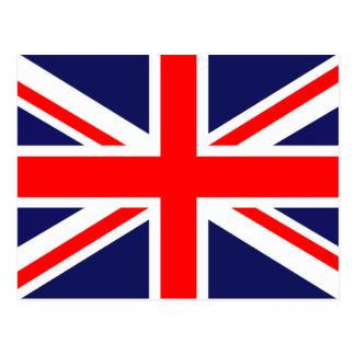 Union Jack - bandera BRITÁNICA Tarjetas Postales