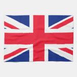 Union Jack - bandera BRITÁNICA Toalla De Cocina