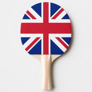 Union Jack - bandera del Reino Unido Pala De Tenis De Mesa
