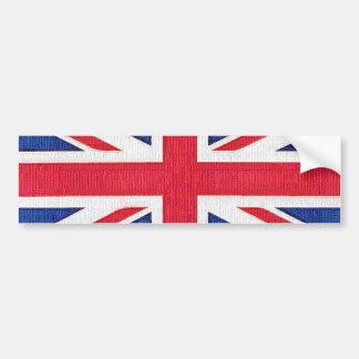 Union Jack - bandera del Reino Unido Pegatina Para Auto