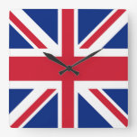 Union Jack - bandera del Reino Unido Reloj