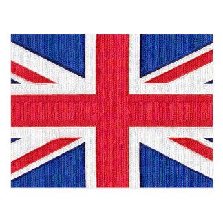 Union Jack - bandera del Reino Unido Tarjeta Postal