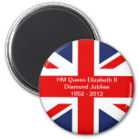Union Jack Bandera-Unió el reino Imán Redondo 5 Cm