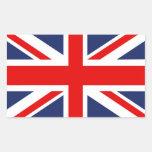 Union Jack Bandera-Unió el reino Rectangular Altavoz