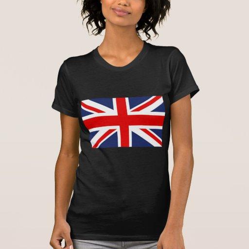 Union Jack Bandera-Unió el reino Playera