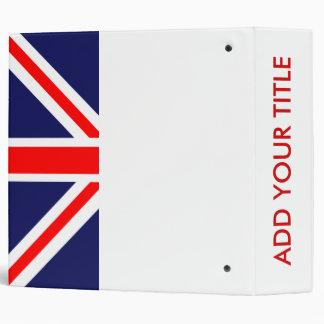 Union Jack Binder
