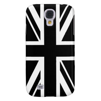 Union Jack ~ Black and White Samsung Galaxy S4 Case