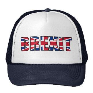 Union Jack Brexit, White Navy Blue Trucker Hat