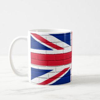 Union Jack Bricks Classic White Coffee Mug