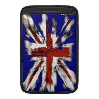 Union Jack británico apenado Fundas Para Macbook Air
