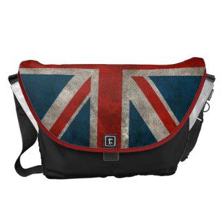 Union Jack británico Bolsas De Mensajería