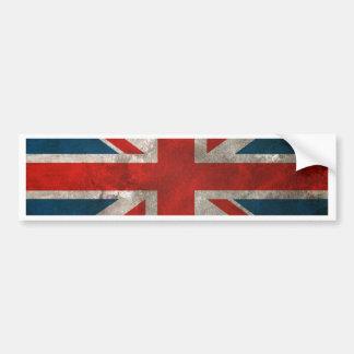Union Jack británico Pegatina Para Auto
