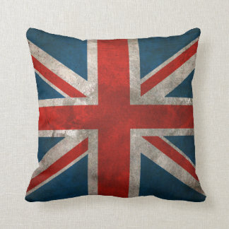 Union Jack británico Cojín