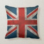 Union Jack británico Cojines