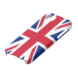 Union Jack británico Funda Para iPhone 5 Barely There