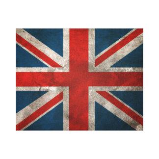 Union Jack británico Lienzo Envuelto Para Galerias