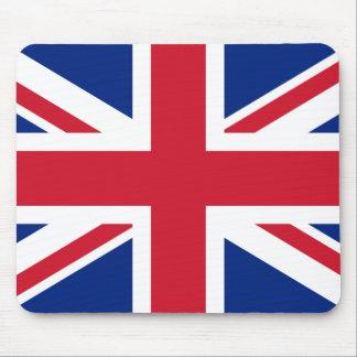 Union Jack británico Mousepads
