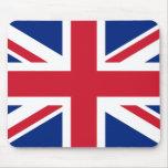 Union Jack británico Tapetes De Ratones
