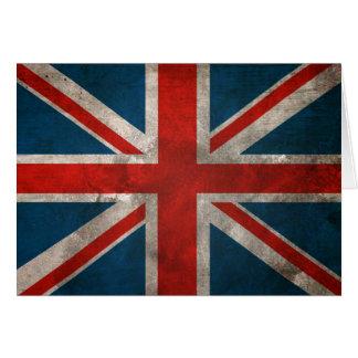 Union Jack británico Tarjeta De Felicitación