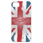 Union Jack British Flag Abstract Wax Art iPhone 5 Covers
