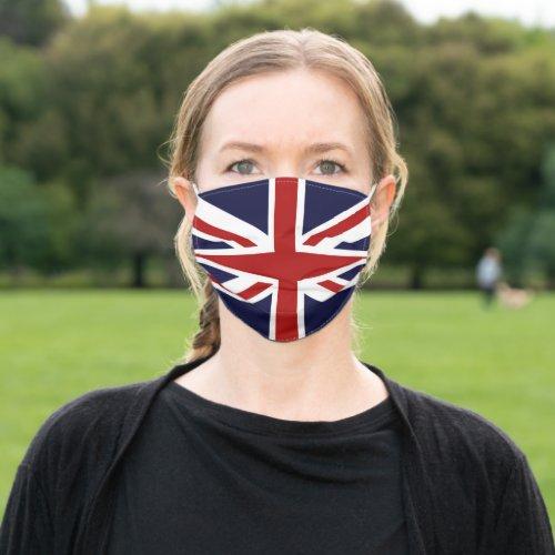 Union Jack British Flag Cloth Face Mask